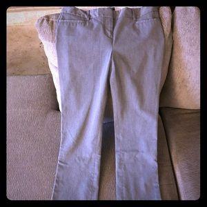 Express columnist pants 4L grey